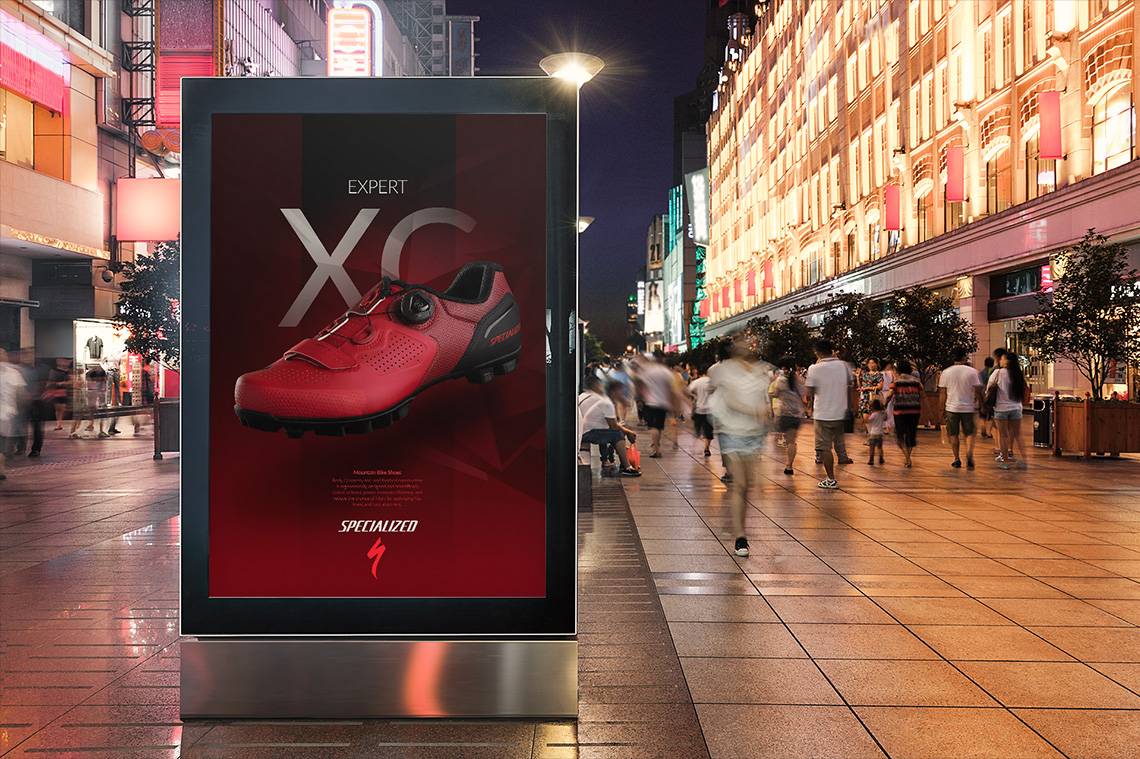 Diseño publicitario Keepinmind fotografia Specialized