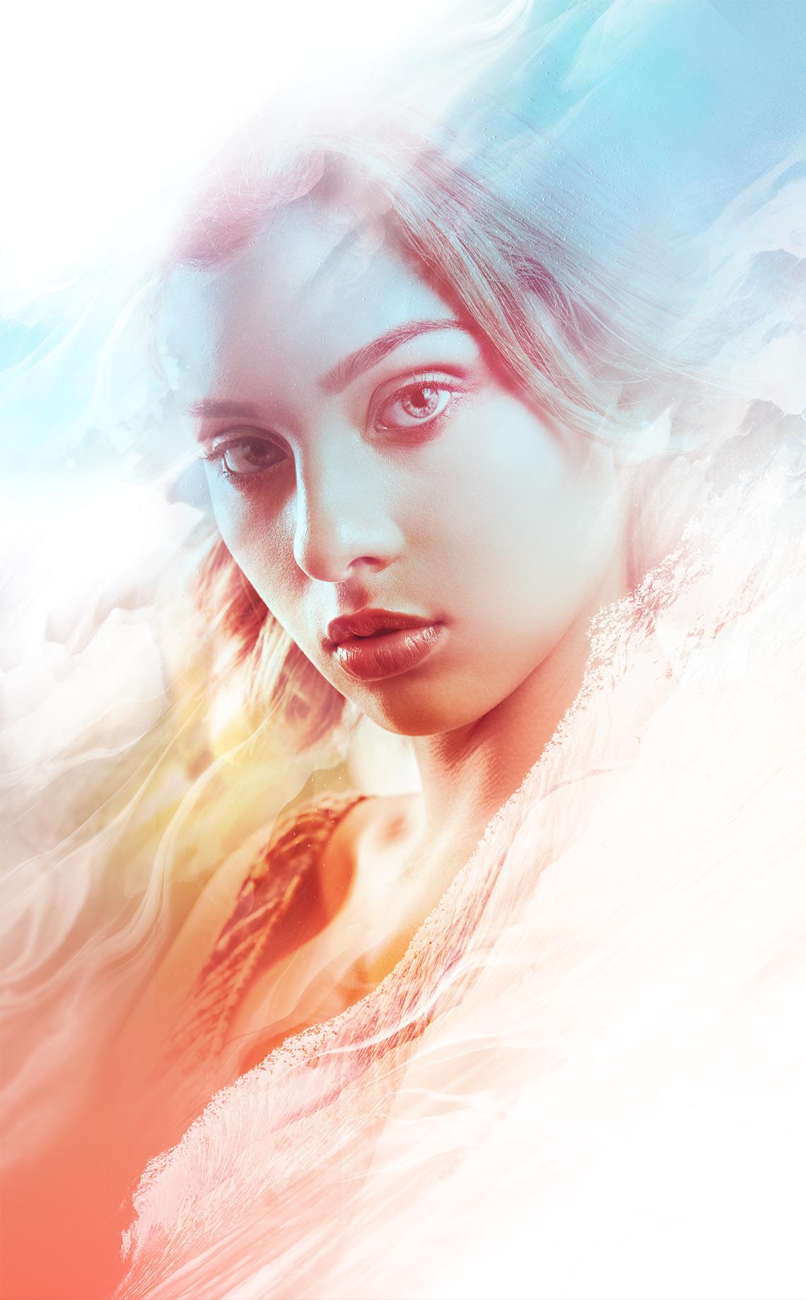 Arte Digital Fotografía de Retrato Cali y diseño Raven.artd