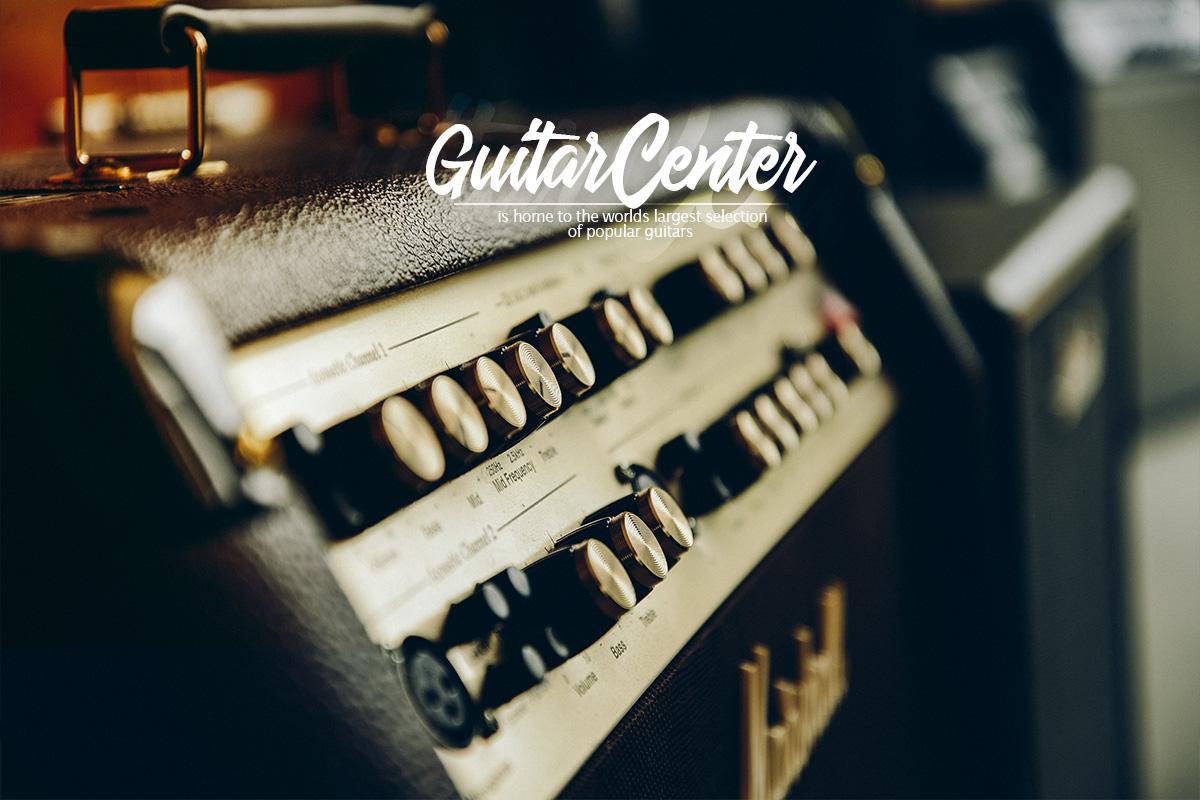 Diseño Web y Fotografía de Producto Concepto Guitar Center Cali 1