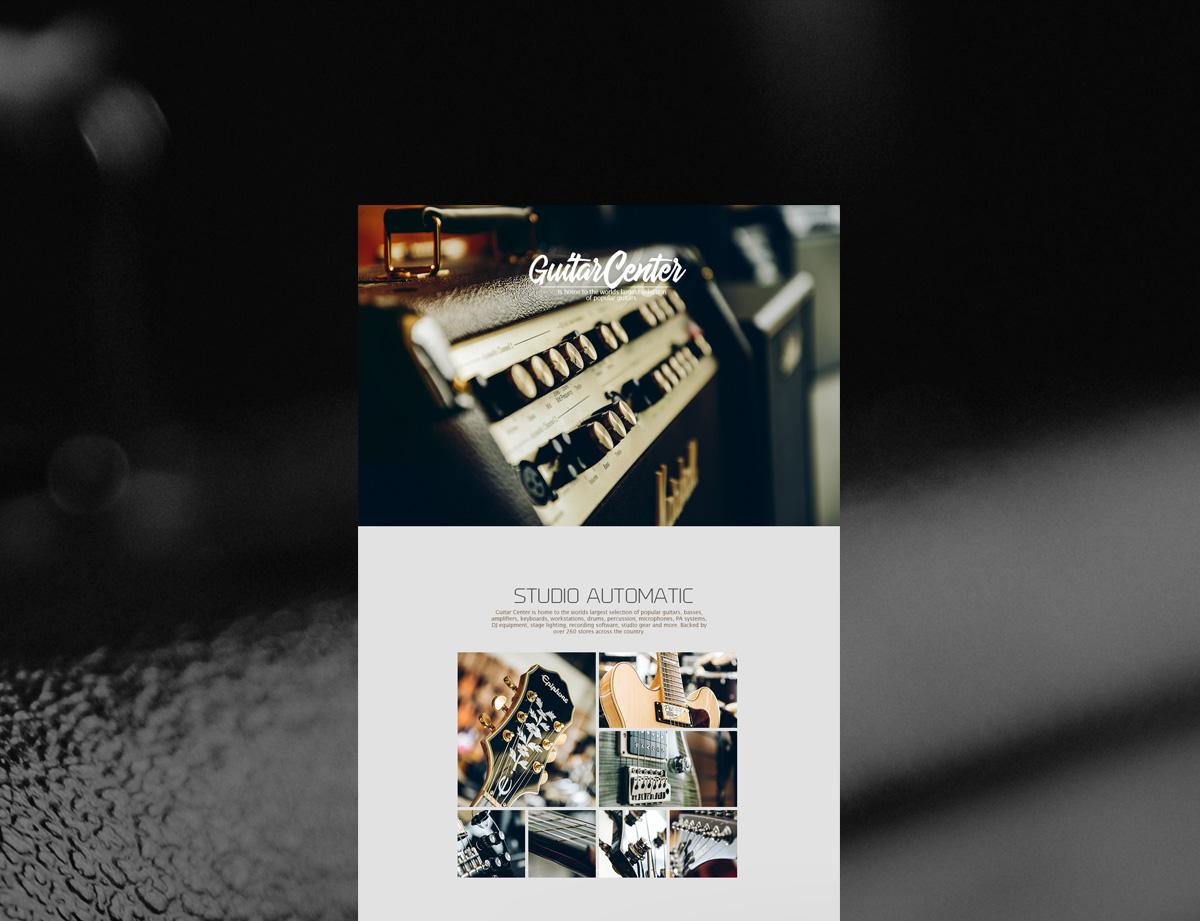 Diseño y fotografía publicitaria Cali Concepto Guitar Center Cali 11