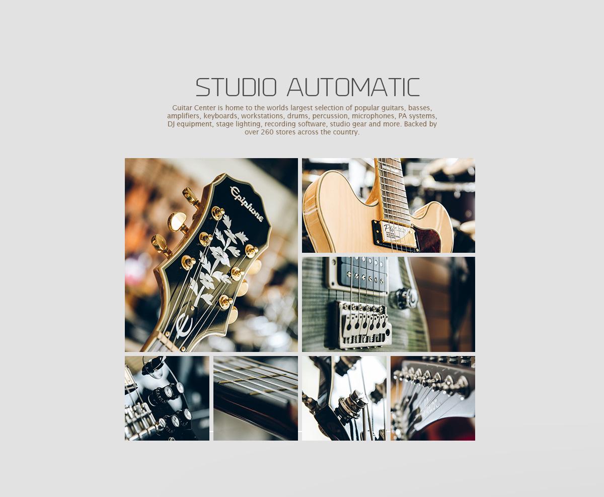 Diseño y fotografía publicitaria Cali Concepto Guitar Center Cali 2