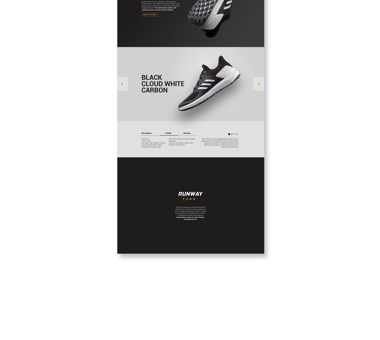 Fotografía Publicitaria Concepto Adidas Keepinmind
