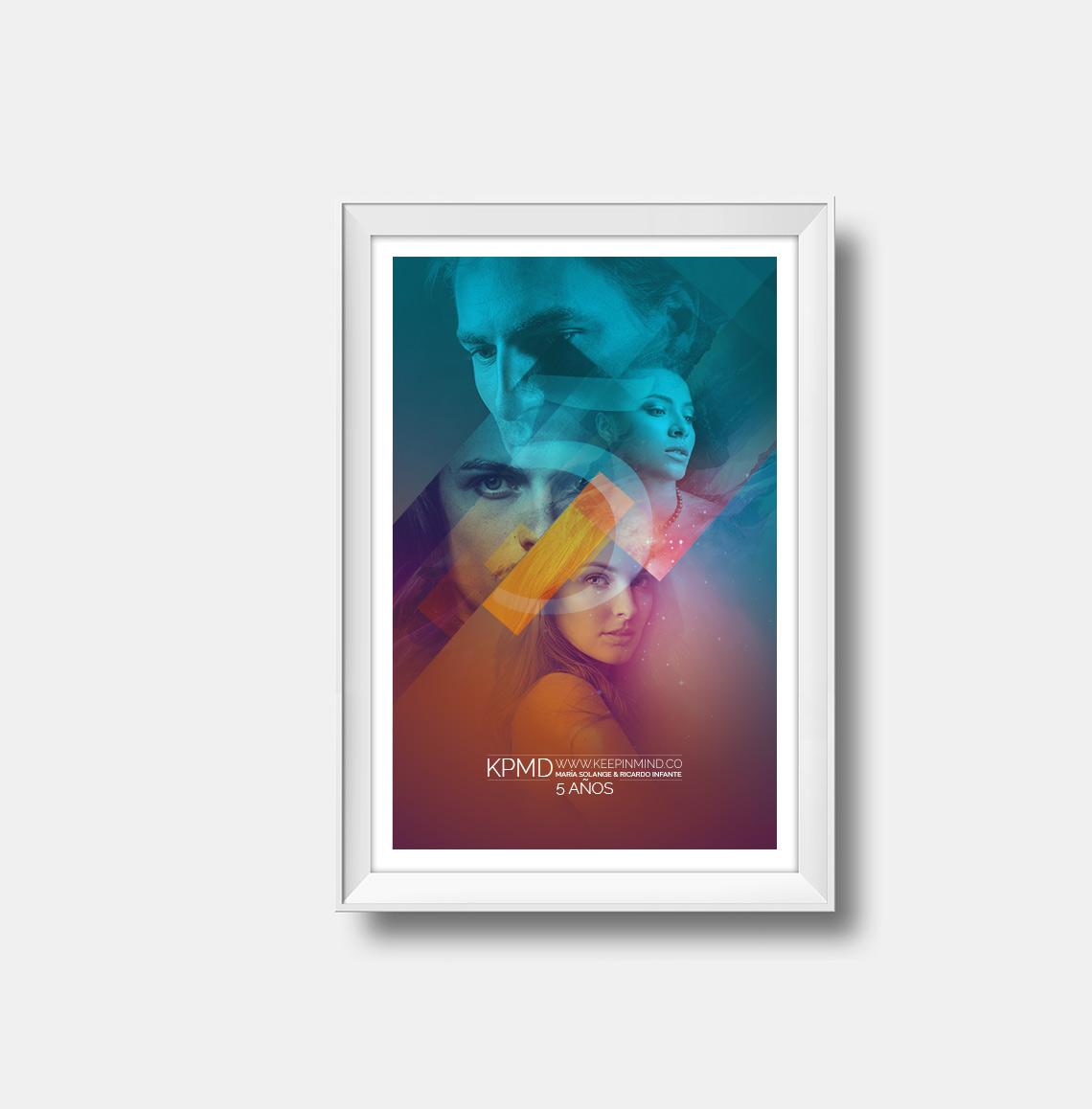 Poster 5 años de Keepinind Fotografía 2