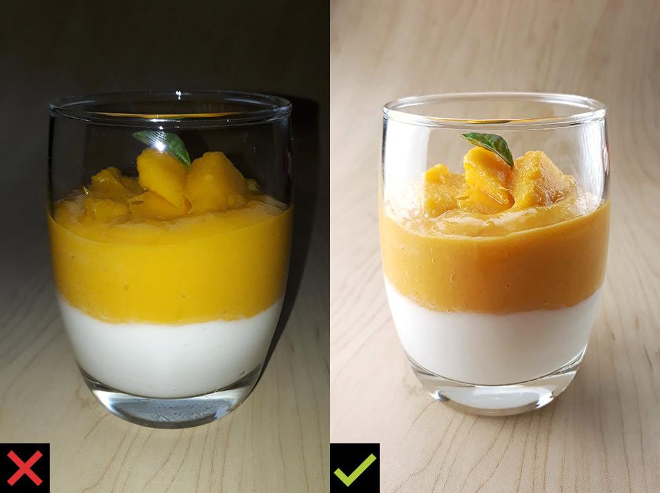 Fotografia con Celular Comparación