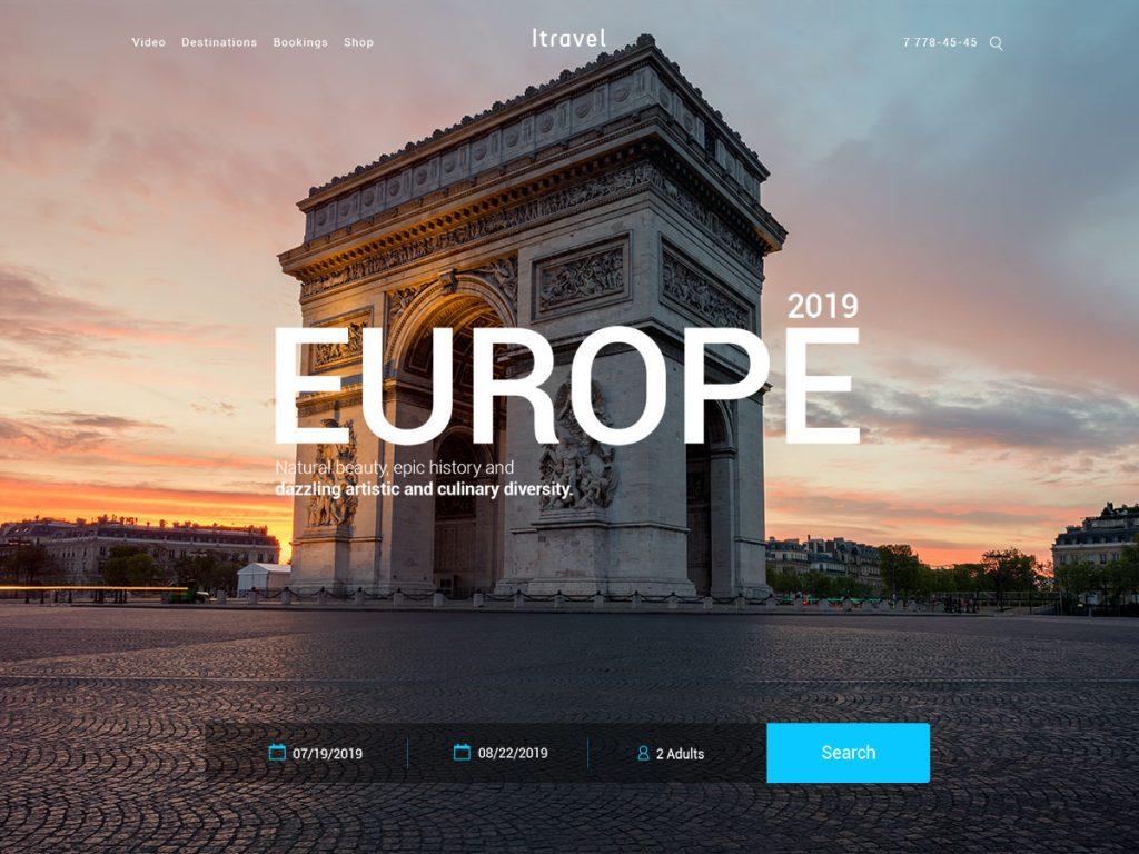 Diseño Páginas web Cali - Europa