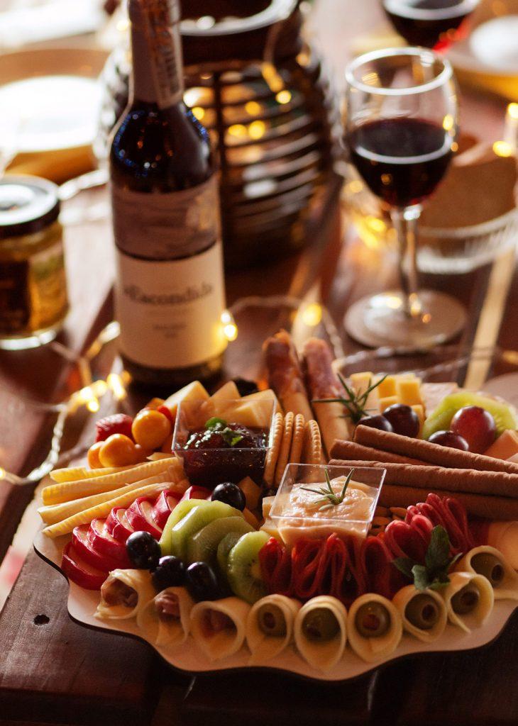 Empresa de fotografía de alimentos tabla de queso